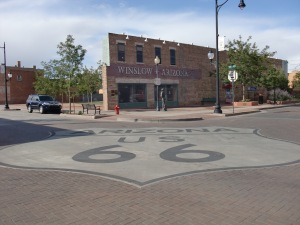 In Winslow Arizona