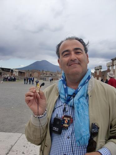 Guide at Pompeii